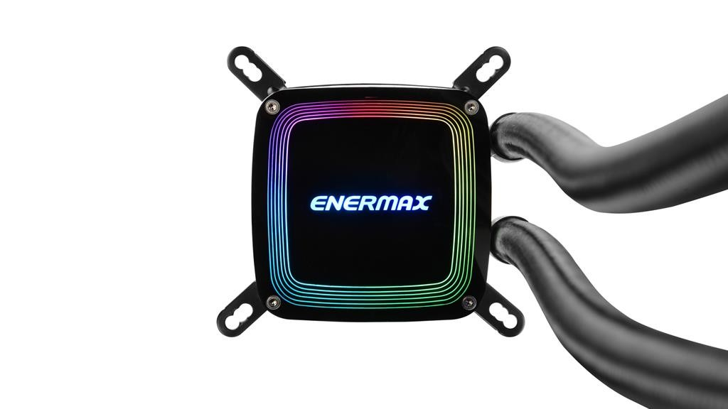 CPU cooler Enermax AquaFusion 240, Water, 2x fan 120mm, 24mj, (ELC-AQF240-SQA)