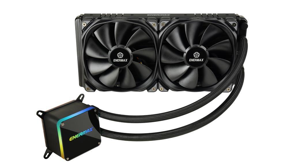 CPU cooler Enermax LiqTech II 280, Water, 2x fan 140mm, 24mj, (ELC-LTTO280-TBP)