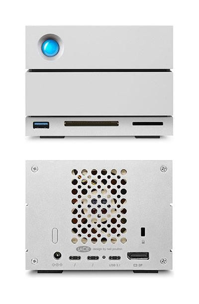 "HDD ext LaCie 8TB crna, 2big Dock Thunderbolt 3, STGB8000400, 3.5"", USB3.1 i Thunderbolt 3, 7200RPM, 24mj"