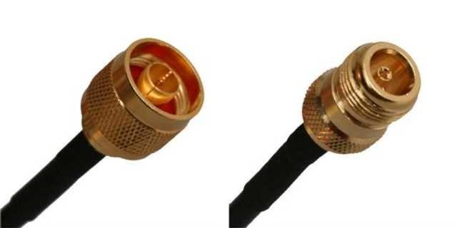 WLAN kabel pigtail MaxLink 5m 5GHz RF240 N male - N female (MXL-08-NM-NF-05)