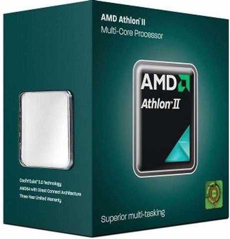 CPU AMD Athlon X2 340 (3.2GHz do 3.6GHz, 1MB (1MB), C/T: 2/2, FM2, cooler, 65W), 36mj, AD340XOKHJBOX
