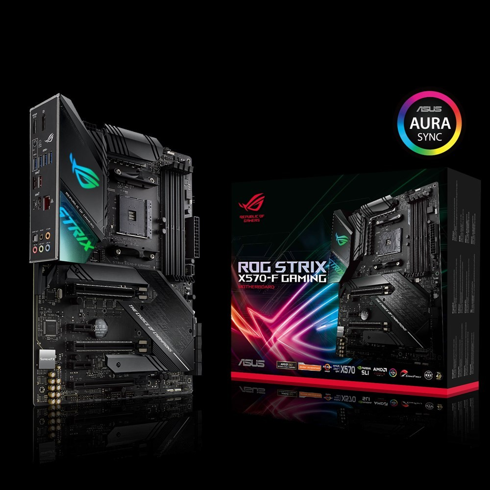 MB Asus ROG Strix X570-F Gaming, AM4, ATX, 4x DDR4, AMD X570, DP, HDMI, 36mj