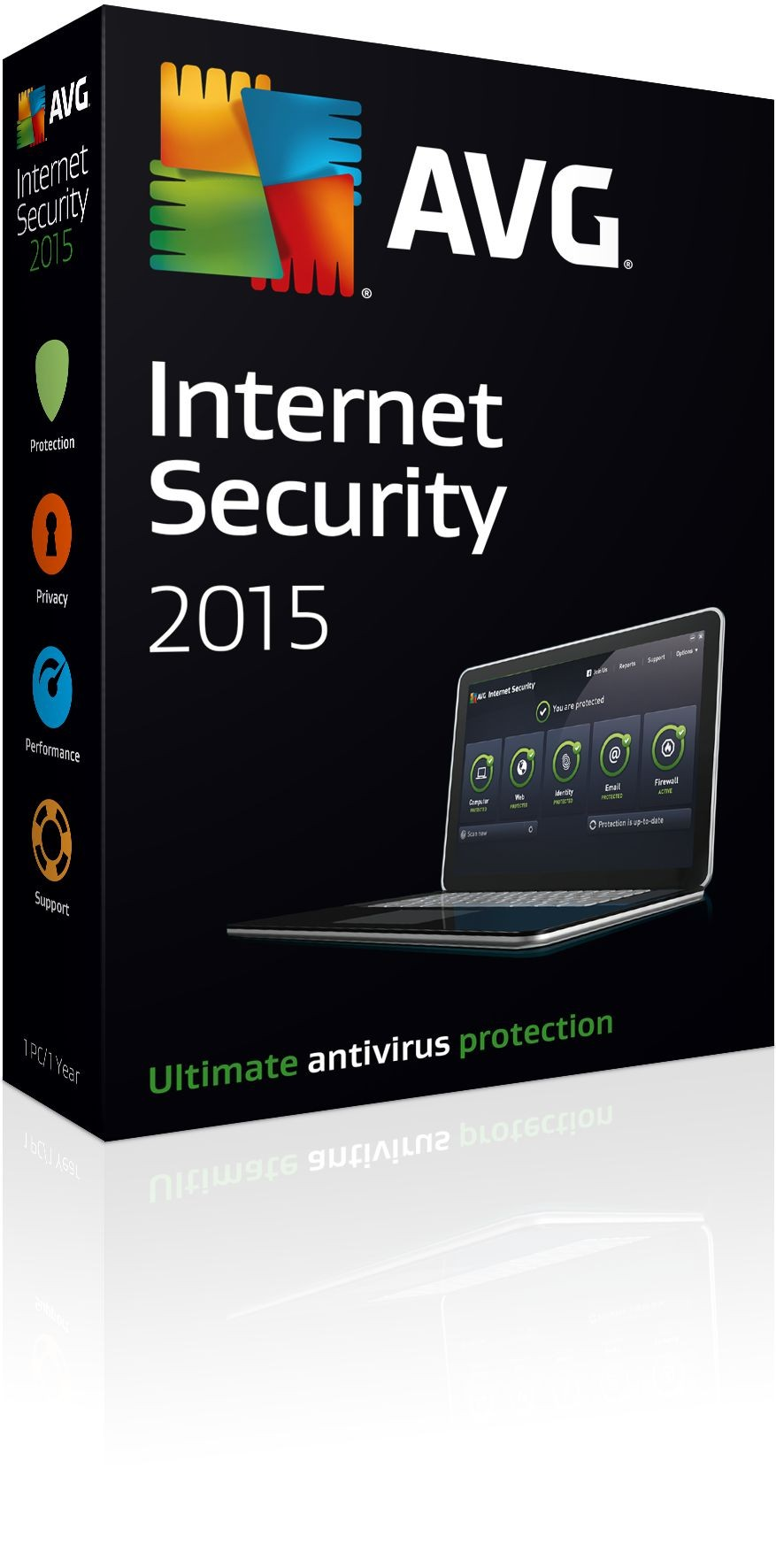 AVG Internet security (4 licence, 2 godine update)