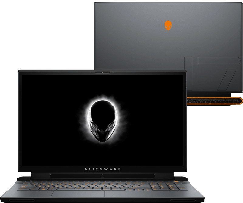 """NB Alienware Area 51m, siva, Intel Core i7 9750H, 2x512GB SSD, 16GB, 17.3"""" 1920x1080, nVidia GeForce RTX 2070 Max Q 8GB, Windows 10 Professional, 36mj, (N0790)"""