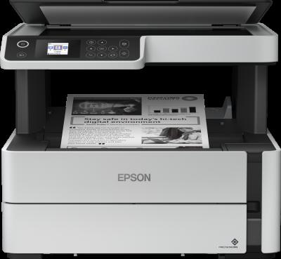 Epson M2140, print, scan, copy, duplex, tintni, A4, USB, 1-bojni, bijela, 12mj, (C11CG27403)