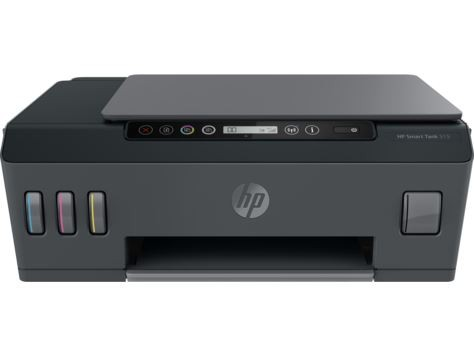 HP Ink Tank 515 Wireless All-in-One, print, scan, copy, tintni, color, A4, USB, WL, Bt, 4-bojni, crna, 12mj, (1TJ09A)