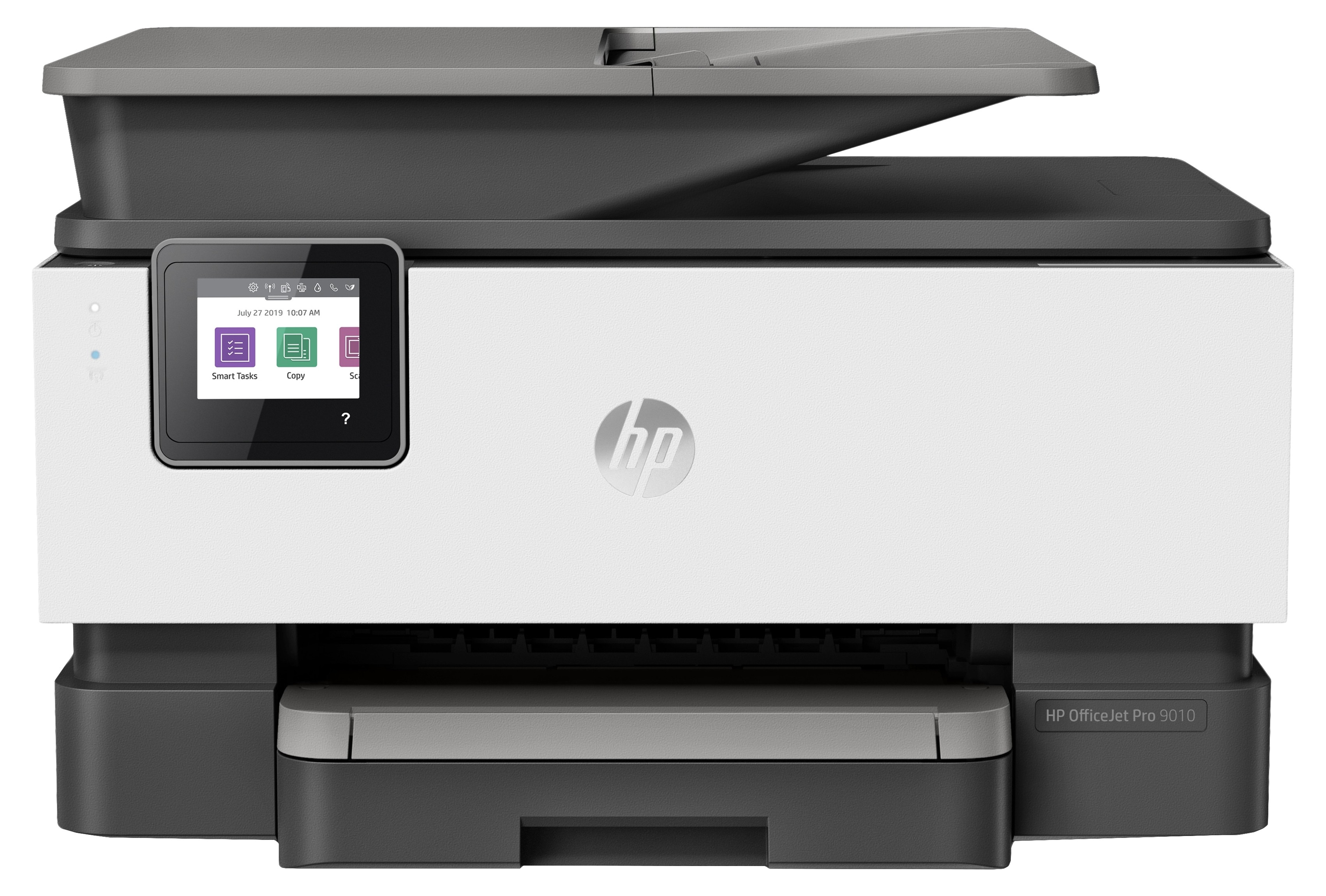 HP Officejet Pro 9010 All-in-One Printer, print, scan, copy, fax, ADF-D, duplex, tintni, color, A4, USB, LAN, WL, 4-bojni, crna, 12mj, (3UK83B)