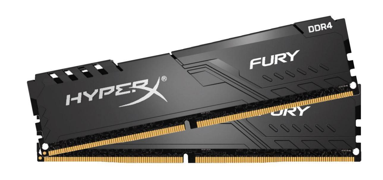 DDR4 32GB (2x16GB), DDR4 3200, CL16, DIMM 288-pin, Kingston Fury HX432C16FB3K2/32, 36mj