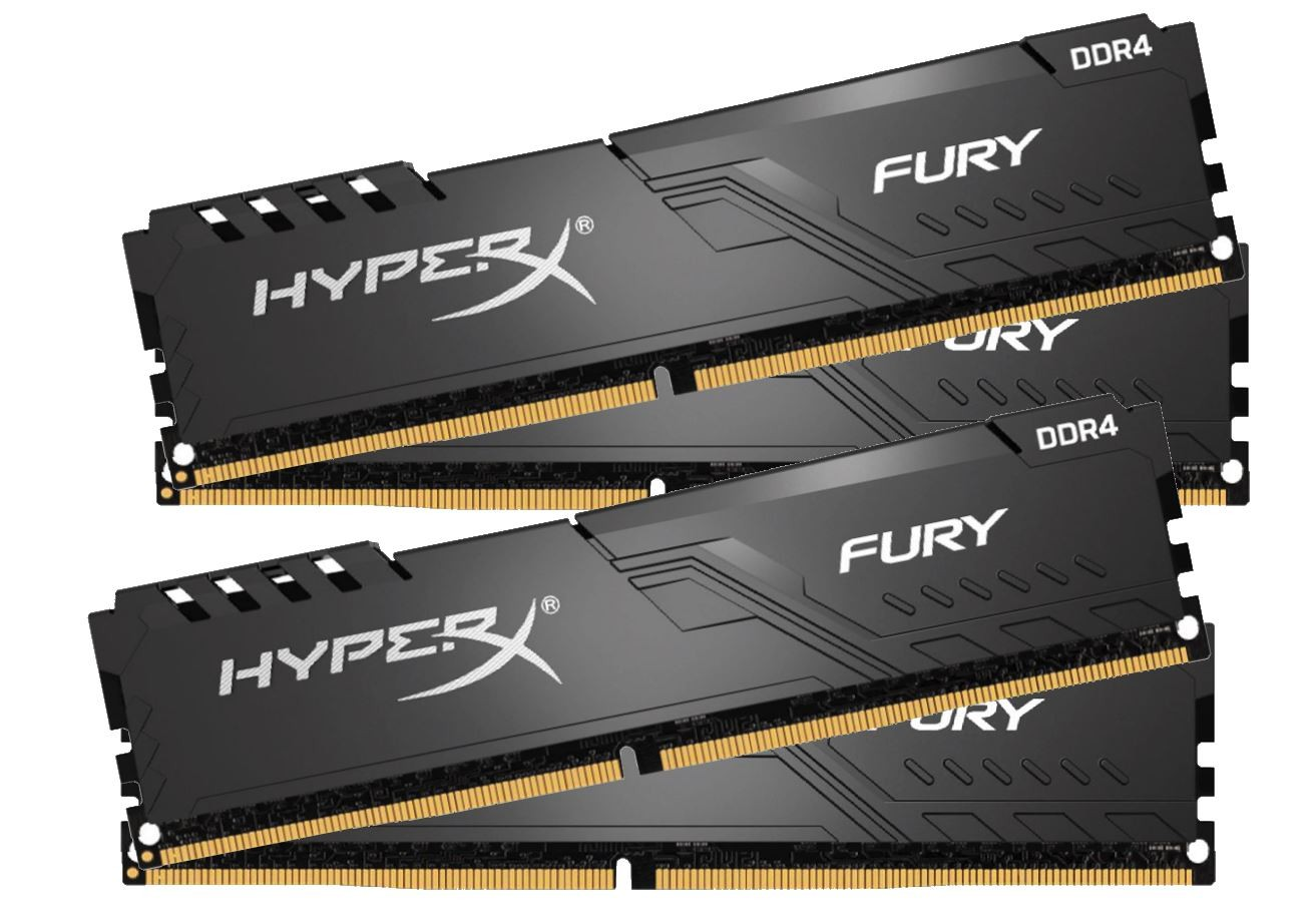 DDR4 32GB (4x8GB), DDR4 3000, CL15, DIMM 288-pin, Kingston HyperX Fury HX430C15FB3K4/32, 36mj