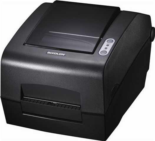 POS Pisač Bixolon SLP-T400G, crna, 152mm/s, Termalni, termal transfer, rola 116mm, USB, paralel, serial, 24mj