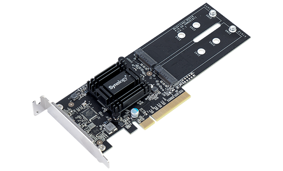 Synology M2D18 PCIE GEN3 X8 ADAPTER, NVMe, SATA, M.2