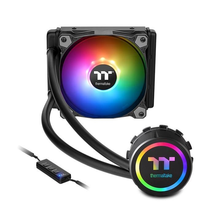 CPU cooler Thermaltake Water 3.0 120 ARGB Sync Edition, Water, 1x fan 120mm, 24mj, (CL-W232-PL12SW-A)