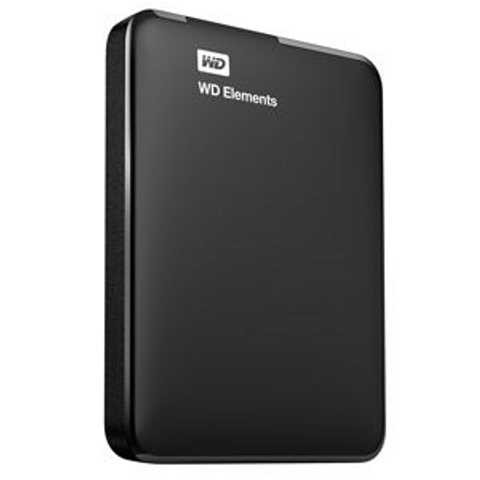 "HDD Ext WD 2TB Elements Portable, 2.5"", USB3.0 (WDBU6Y0020BBK-EESN)"