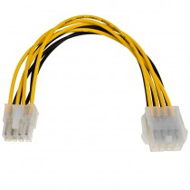 Adapter ATX 8-pin internal power supply extension cable EPS, 0.2m (AK-CA-08)