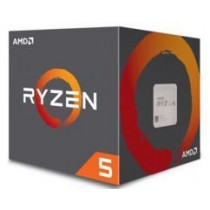 CPU AMD Ryzen 5-1400 (3.2GHz do 3.4GHz, 8MB (2MB+8MB), C/T: 4/8, AM4, cooler, 65W), 36mj