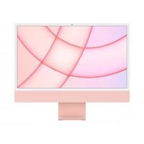 "PC Apple iMac, 24"" 4480x2520, roza, Apple 8C, 256GB SSD, 8GB, Apple M1-7c, AiO, 12mj, Tipk. ENG, Miš, MJVA3ZE/A"