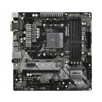 MB ASRock B450M Pro4, AM4, micro ATX, 4x DDR4, AMD B450, S3 4x, VGA, DVI-D, HDMI, 24mj (90-MXB8F0-A0UAYZ)