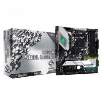 MB ASRock B550M Steel Legend, AM4, micro ATX, 4x DDR4, AMD B550, 36mj (90-MXBCU0-A0UAYZ)