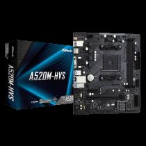 MB ASRock A520M-HVS, AM4, micro ATX, 2x DDR4, AMD A520, 36mj (90-MXBE60-A0UAYZ)