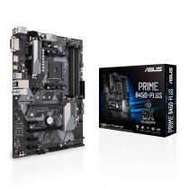MB Asus PRIME B450-PLUS, AM4, ATX, 4x DDR4, AMD B450, S3 6x, DVI-D, 36mj (90MB0YN0-M0EAY0)