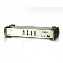 PC Preklopnik 4-Port USB DVI Dual Link KVM Switch with Audio (CS1784A-AT-G)