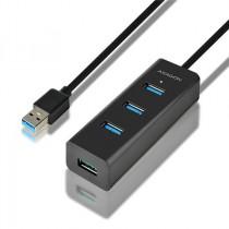 USB HUB 4x USB3.0 Charging Hub, crna, USB3.0, USB3.0, 24mj, Axagon (HUE-S2BL)