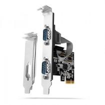 Kontroler IO 2x serial (RS232) PCIe x1 (low profile) AXAGON (PCEA-S2N)