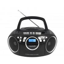 Boombox Blaupunkt BB16BK FM PLL, kaseta, CD/MP3/USB/AUX (BB16BK)