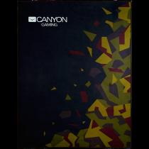 Gaming tepih 100x130cm Black camouflage pattern, Canyon CND-SFM02