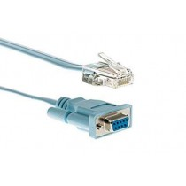 Kabel Serial Cisco CAB-CONSOLE-RJ45=, plava, RJ-45 Male - DB 9pin Female, 1.83m