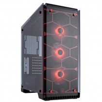 Kućište Corsair Crystal 570X RGB Red, crna, ATX, 24mj (CC-9011111-WW)