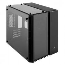 Kućište Corsair Crystal 280X Tempered Glass Micro ATX PC Case - Black, crna, micro ATX, 24mj (CC-9011134-WW)