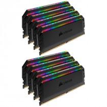 DDR4 128GB (8x16GB), DDR4 3000, CL15, DIMM 288-pin, Corsair Dominator Platinum RGB CMT128GX4M8C3000C15, 36mj