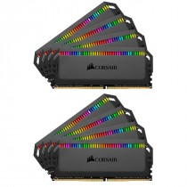 DDR4 128GB (8x16GB), DDR4 3600, CL18, DIMM 288-pin, Corsair Dominator Platinum RGB CMT128GX4M8X3600C18, 36mj