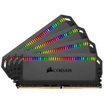 DDR4 64GB (4x16GB), DDR4 3000, CL15, DIMM 288-pin, Corsair Dominator Platinum RGB CMT64GX4M4C3000C15, 36mj