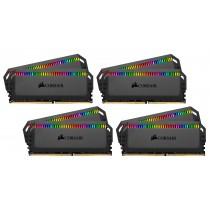 DDR4 64GB (8x8GB), DDR4 4000, CL19, DIMM 288-pin, Corsair Dominator Platinum RGB CMT64GX4M8X4000C19, 36mj