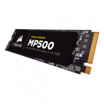 SSD Corsair 480GB, MP510, CSSD-F480GBMP510, M2 2280, M.2, NVMe, 36mj