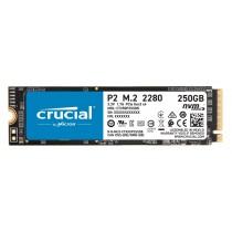 SSD Crucial 250GB, P2, CT250P2SSD8, M2 2280, M.2, NVMe, 60mj