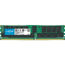 DDR4 32GB (1x32GB), DDR4 2666, CL19, DIMM 288-pin, ECC, Registered, Crucial CT32G4RFD4266, 36mj