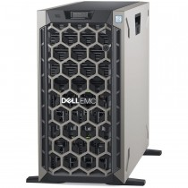 "Server Dell PowerEdge T440, 1x Intel Xeon Silver 4210R, 2x 8TB/7200 SATA3 HDD 3.5"" LFF, 2x 480GB SSD, PERC H730P, 16GB, 2x 750W RPS, Tower, 36mj (BTO202101)"
