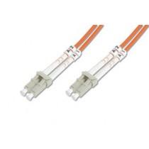 Patch kabel 3m, Optički, Digitus LC-LC MM duplex 50/125µm OM2, DK-2533-03