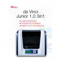 Pisač 3D XYZPrinting, Da Vinci Junior 3 in 1, (w)15cm x (d)15cm x (h)15cm, 12mj, 3F1JSXEU00D