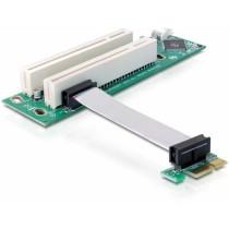 Kontroler Delock Riser Card PCIe x1 -> 2x PCI 32bit, Riser adapter, PCIe x1, 12mj, (41341)