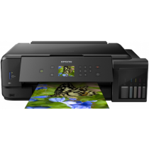 Epson L7180, C11CG16402, print, scan, copy, duplex, CD Print, tintni, color, A3, USB, LAN, WL, 4-bojni, crna, 12mj