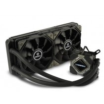 CPU cooler Enermax LiqMax II 240, Water, 2x fan 120mm, 24mj, (ELC-LMR240-BS)