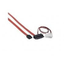 Kabel za SATA micro SATA <--> SATA + Molex (CC-MSATA-001)
