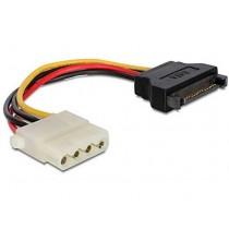 Kabel za SATA (f) na 4-pin Molex (f)
