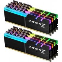 DDR4 128GB (8x16GB), DDR4 2400, CL15, DIMM 288-pin, G.Skill Trident Z RGB F4-2400C15Q2-128GTZR, 36mj
