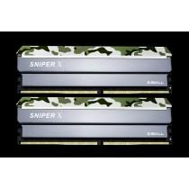 DDR4 16GB (2x8GB), DDR4 2400, CL17, DIMM 288-pin, G.Skill Sniper X F4-2400C17D-16GSXF, 36mj