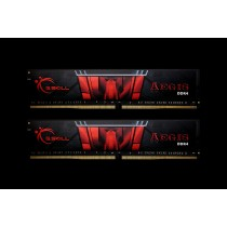 DDR4 32GB (2x16GB), DDR4 2666, CL19, DIMM 288-pin, G.Skill Aegis F4-2666C19D-32GIS, 36mj